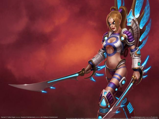 Sacred 2: Fallen Angel, game, pc games, игра, видео игры, компьютерные игры